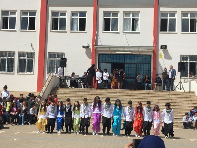 April 23 Enthusiasm at Hacı Kemal Kadooğlu Secondary School