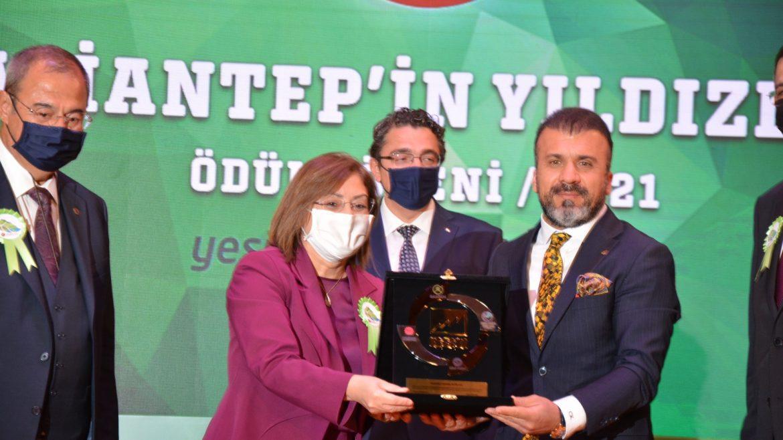 Kadooğlu Yağ'a Bir Ödülde Gaziantep Sanayi Odasından